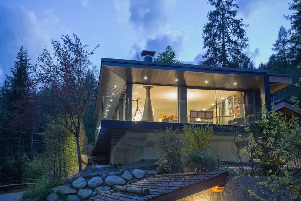 segunda vivienda chalet soleya - grandes ventanas para la entrada de luz