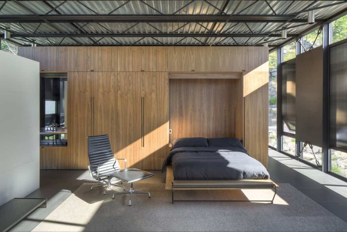 Casa Shokan - dormitorio principal