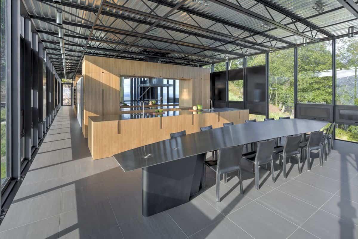 Casa Shokan diseño industrial interior
