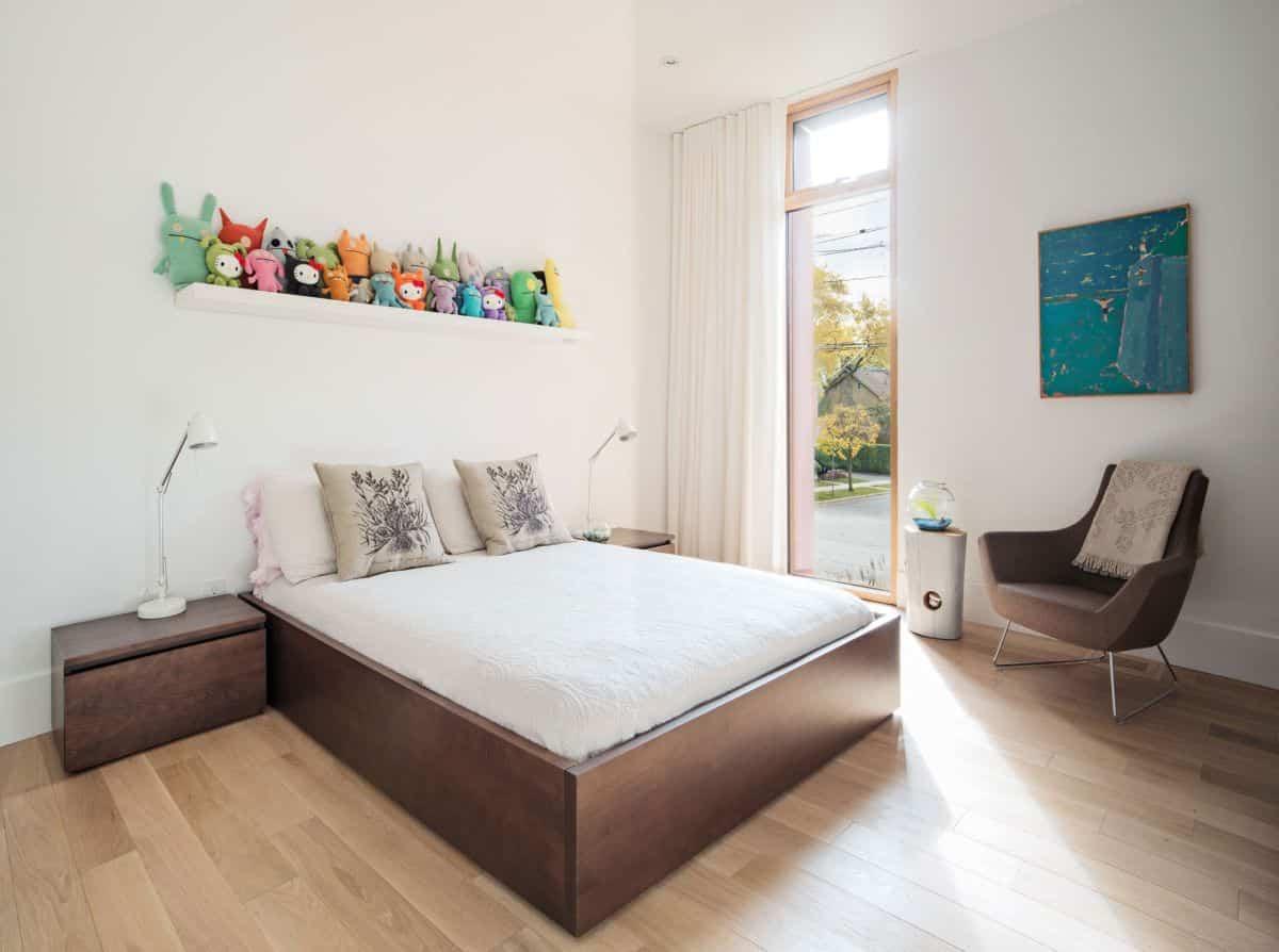intrigante casa en Toronto - dormitorios privados