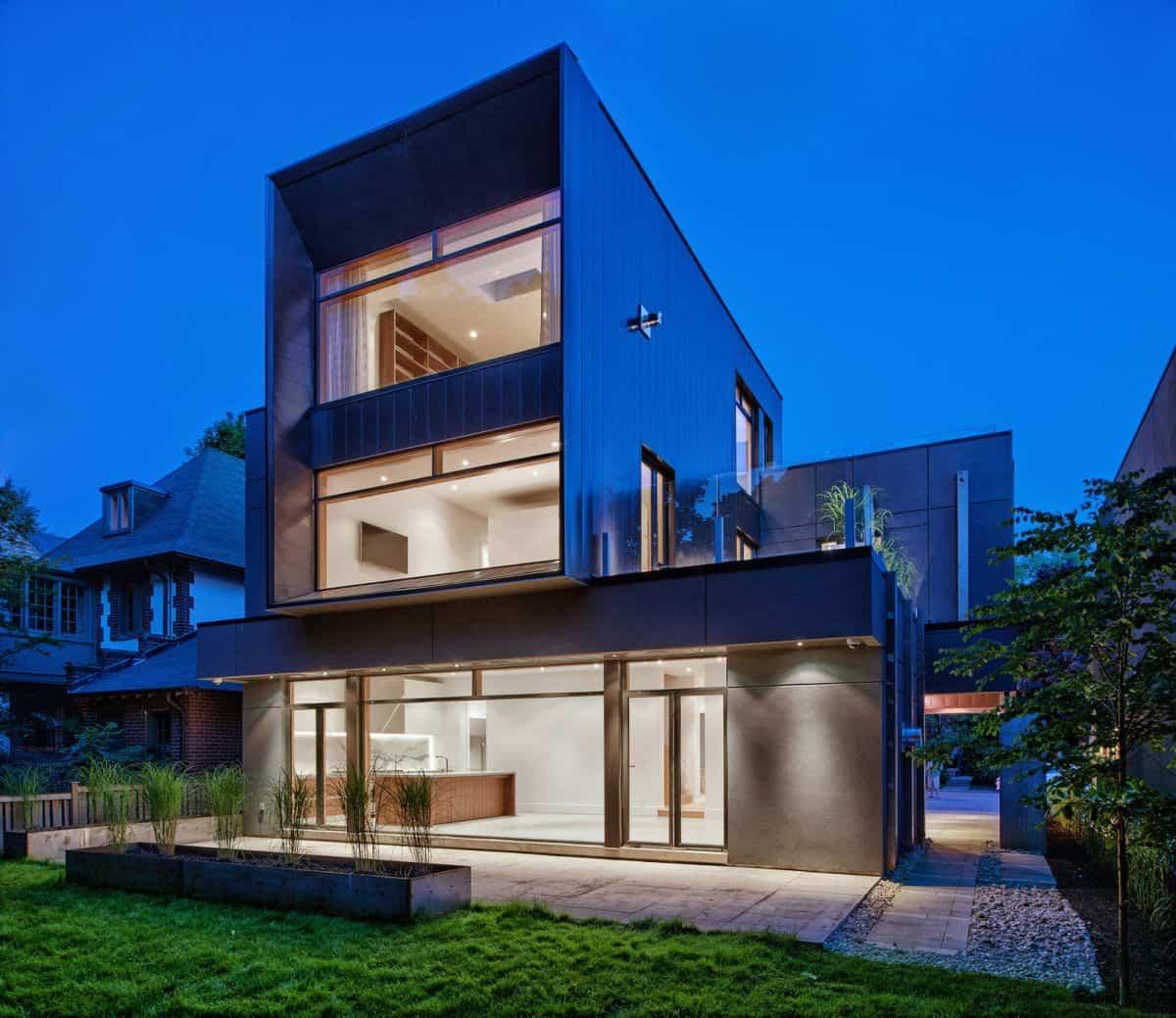 intrigante casa en Toronto de 300 metros cuadrados