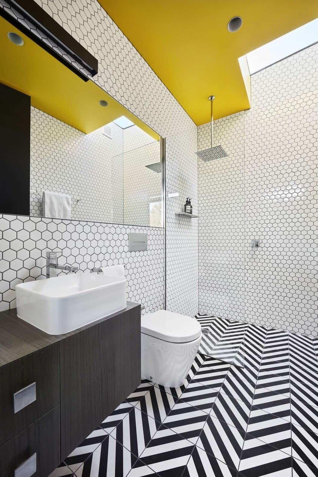 casa moderna en Australia - baño moderno