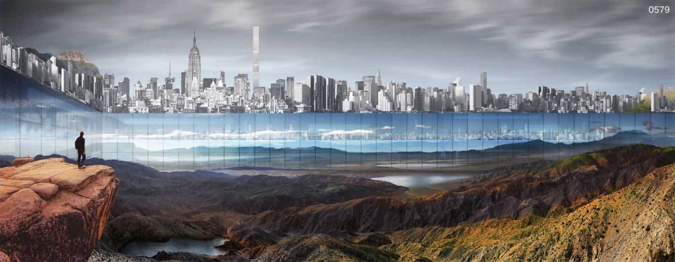 New York Horizon con espejos