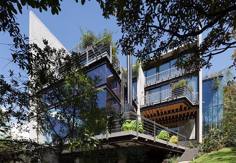 casa bosque en mxico