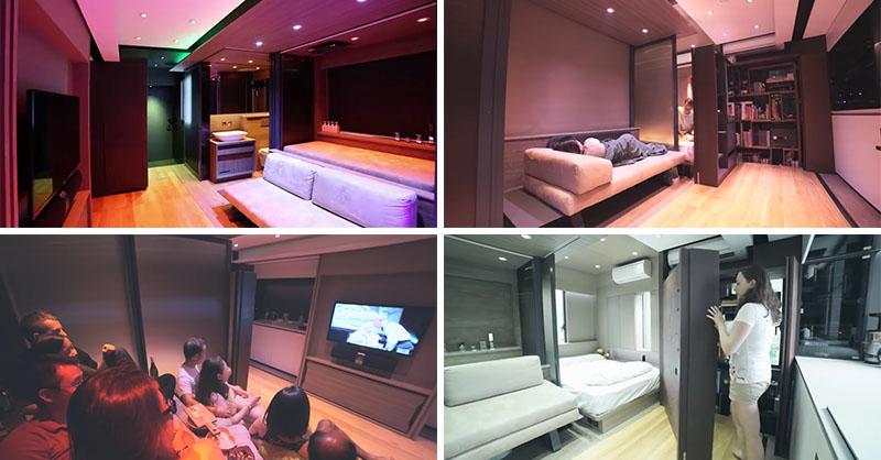 pequeño apartamento en Hong Kong 1