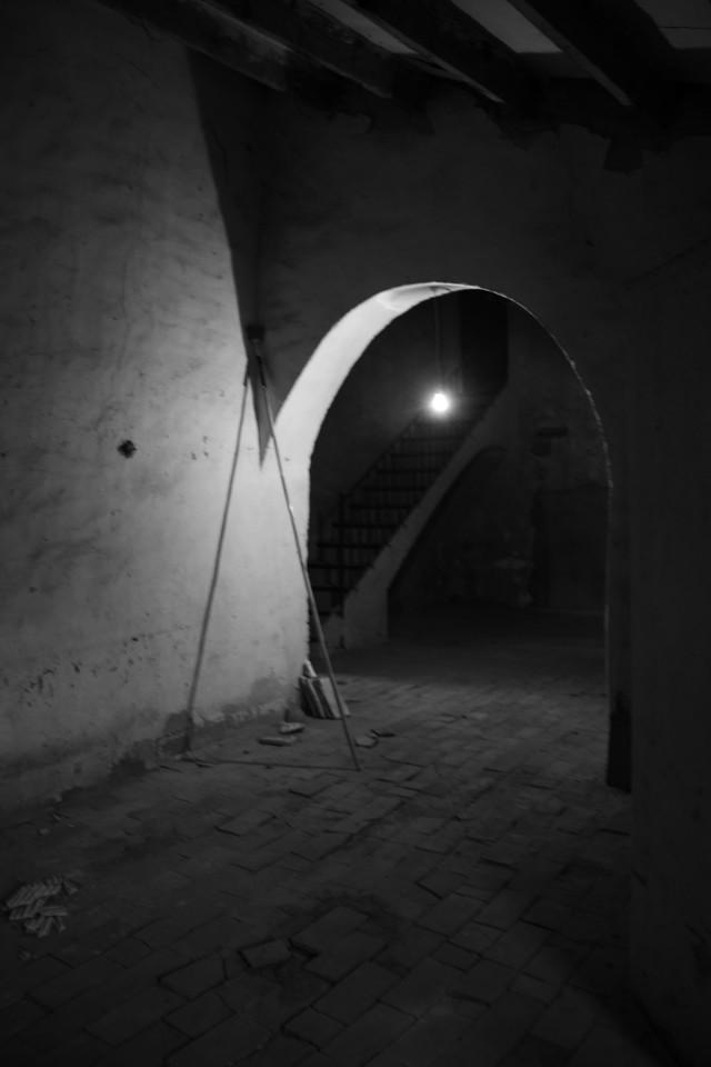 Rehabilitación de una masía - falta de iluminación
