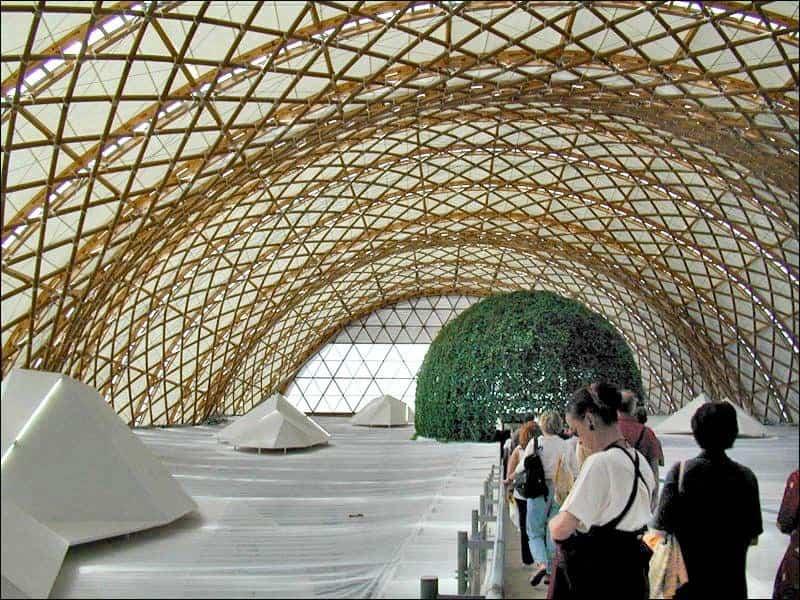 arquitectura efimera - la pavillon du japon