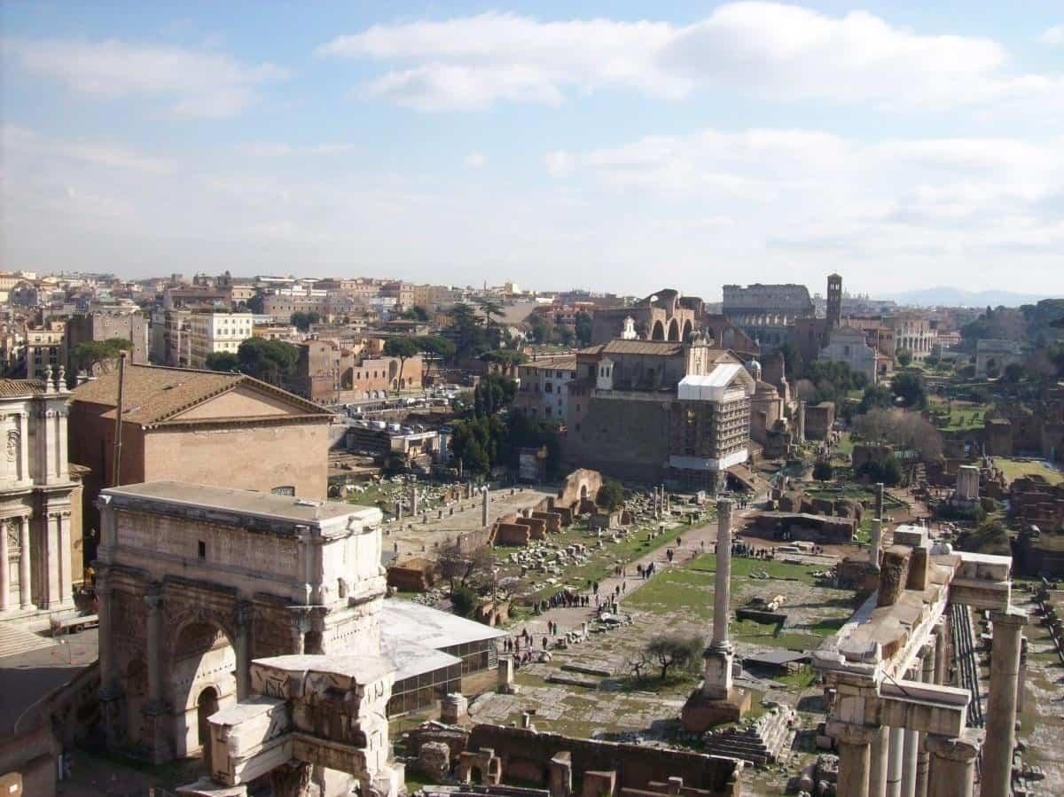 arquitectura romana - foro romano