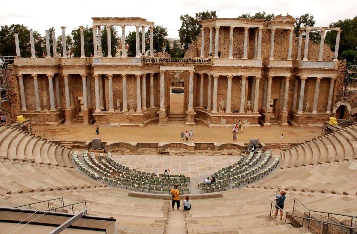 arquitectura romana - teatro romano