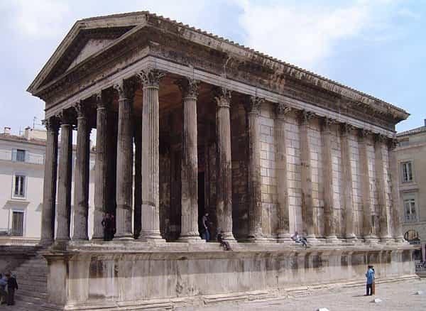 arquitectura romana - templos