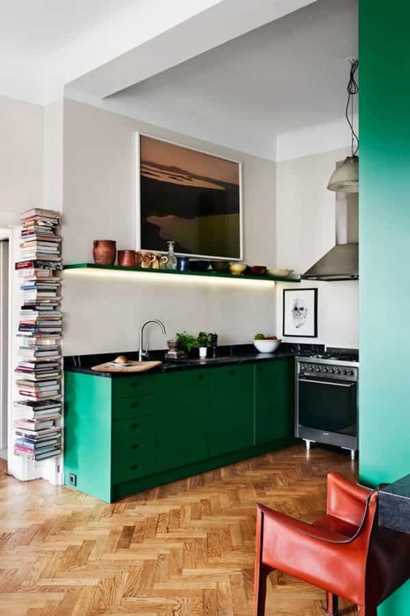 cambiar la cocina 10 - libreria a mano