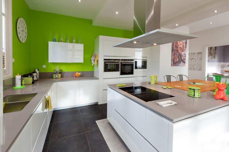 cambiar la cocina 3 - colores llamativos en las paredes