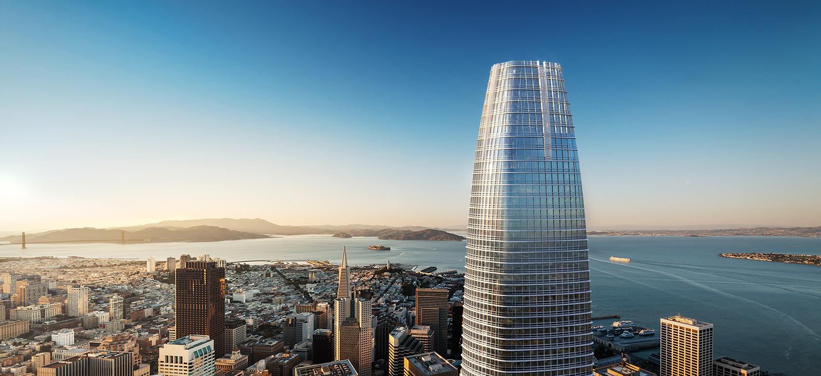 los 10 edificios más altos - Salesforce Tower