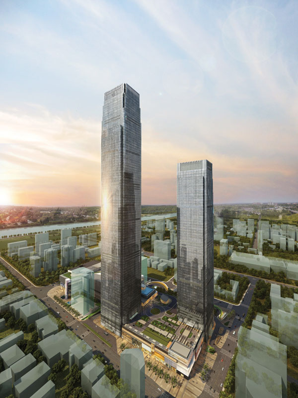 10 edificios más altos 2016 2 - Changsha ifs tower