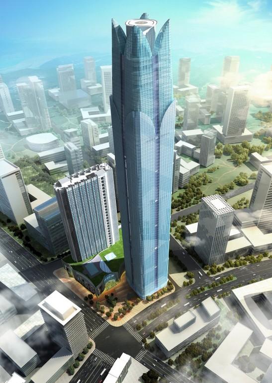 10 edificios más altos 2016 5 - nanning logan century 1