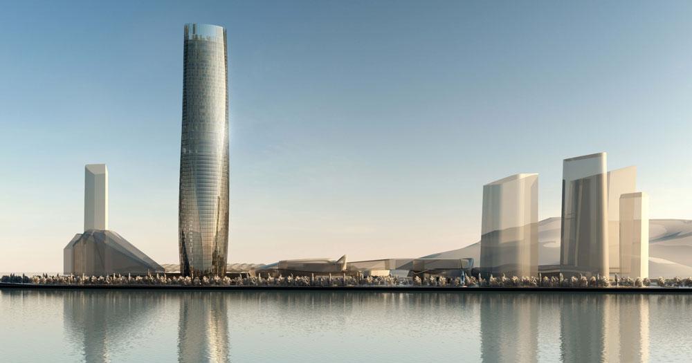 10 edificios más altos 2016 9 - zhuhau st regis hotel