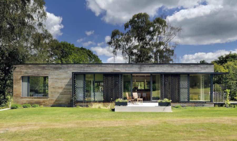 viviendas prefabricadas 11 - casa en el bosque
