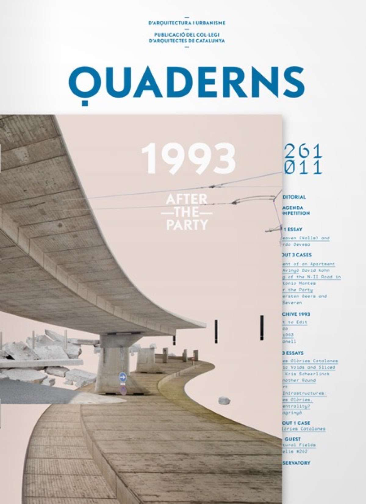 revistas de arquitectura quaderns