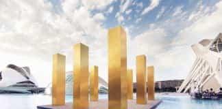 ciudad de las artes y las ciencias The Sky Over Nine Columns ciudad de las artes y las ciencias
