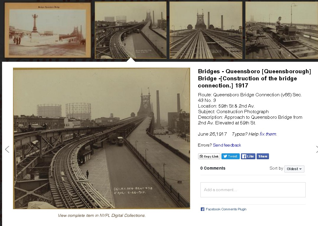 aplicación oldNYC - detalle imagen