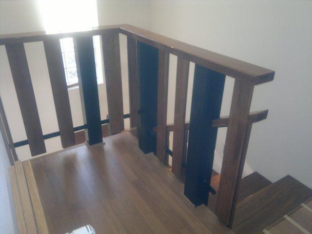 diseño y construcción de escaleras - escaleras con rellano