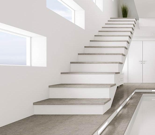 diseño y construcción de escaleras - materiales escalera