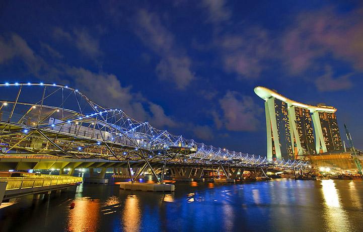 puentes más curiosos del mundo 1 - helix