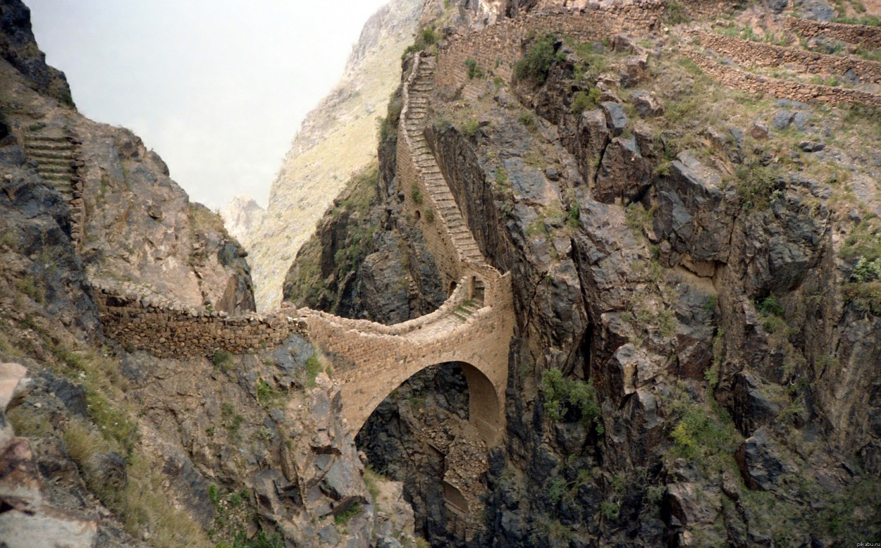 puentes más curiosos del mundo 12 - sahara