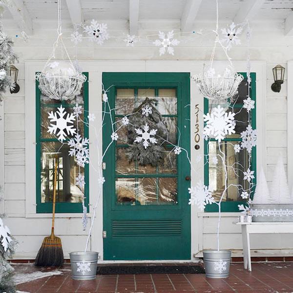 puertas navideñas elegantes 2 - decoración temática
