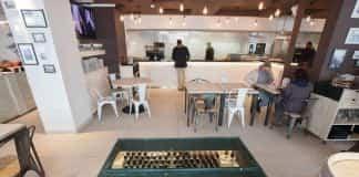 remodelación de cafetería