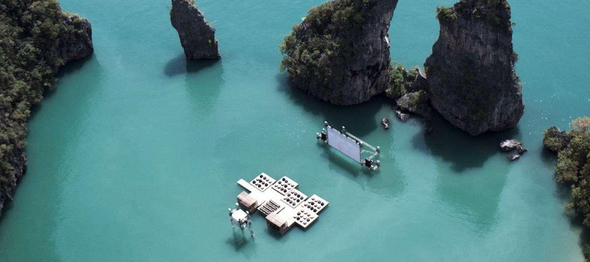 arquitectura flotante