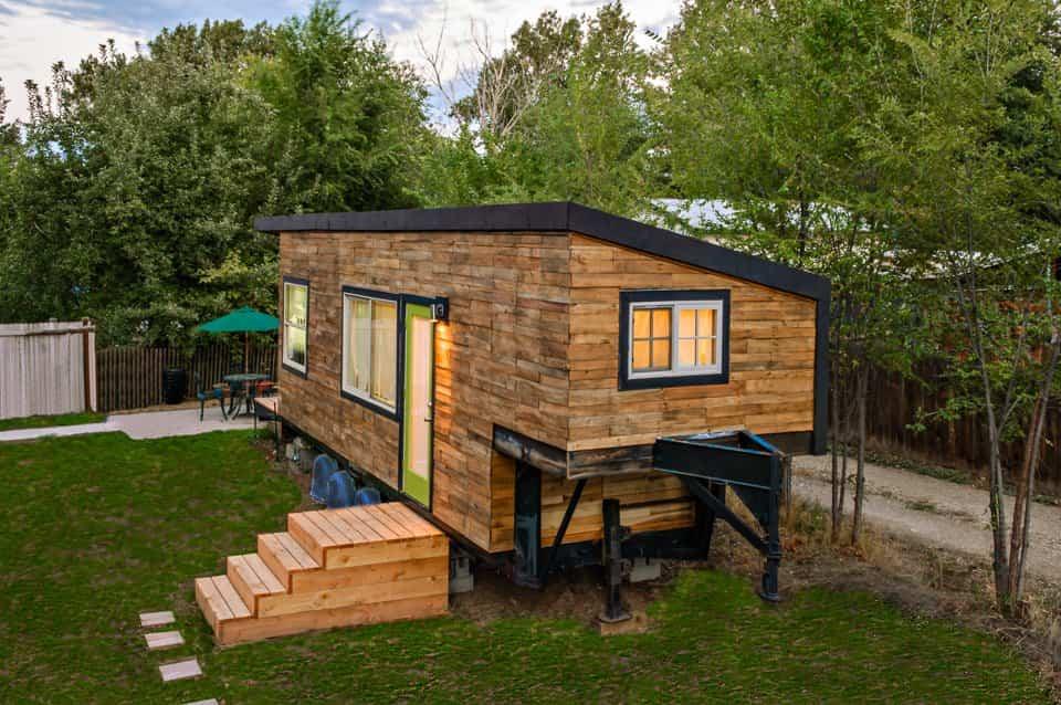 vivienda terminada de la mujer que no podía pagar una hipoteca