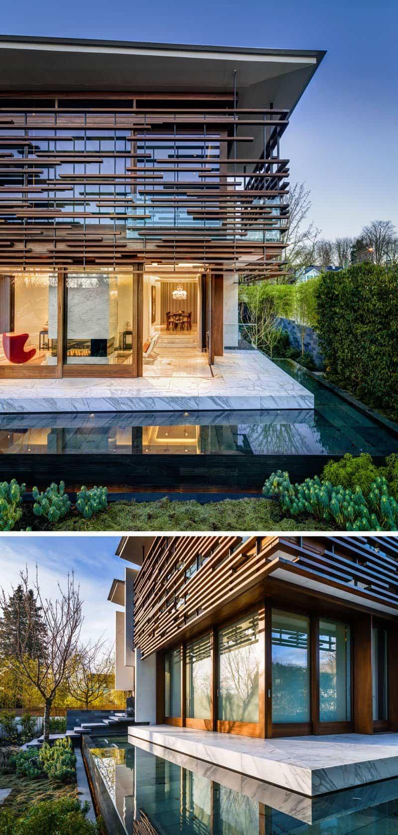 casa contemporanea listones de madera 2