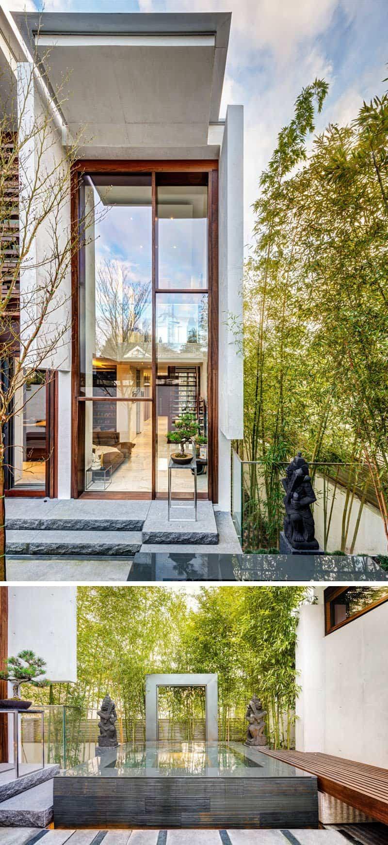 casa contemporanea listones de madera 6