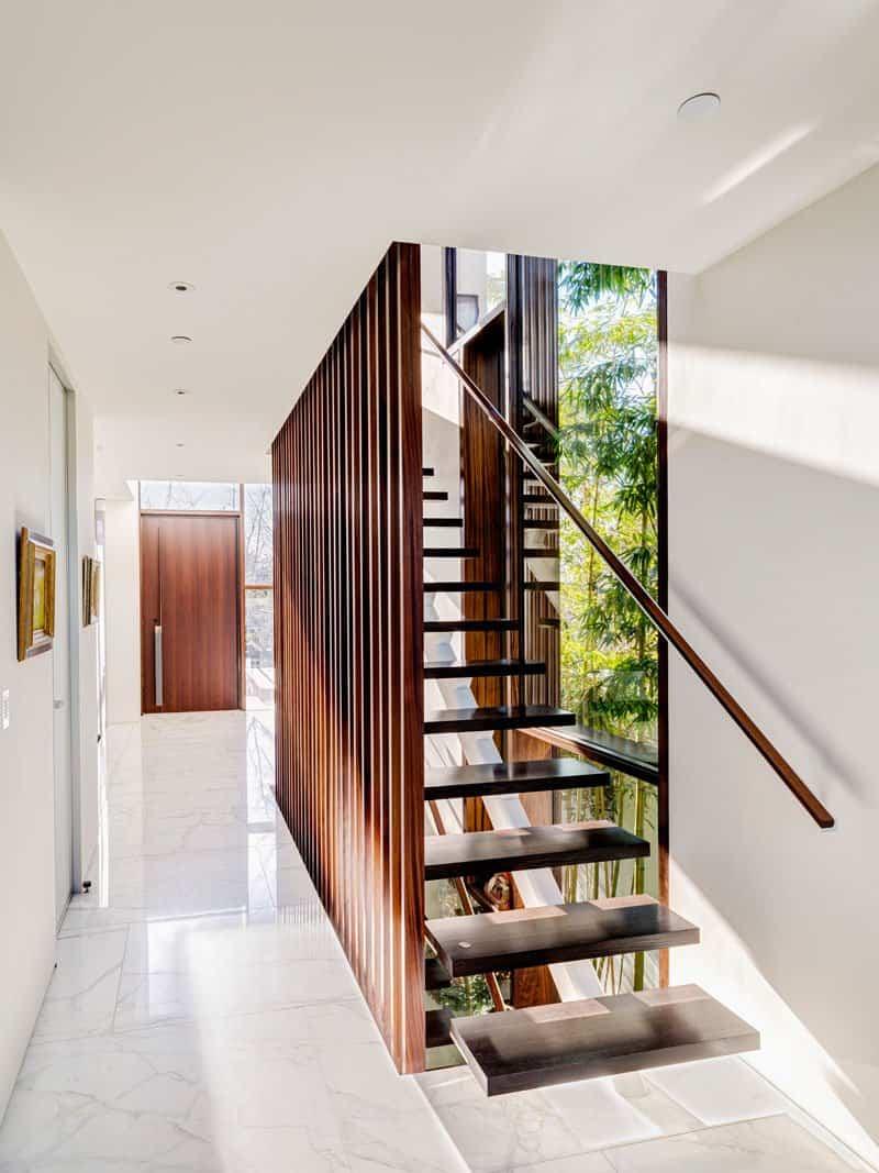 casa contemporanea listones de madera 7