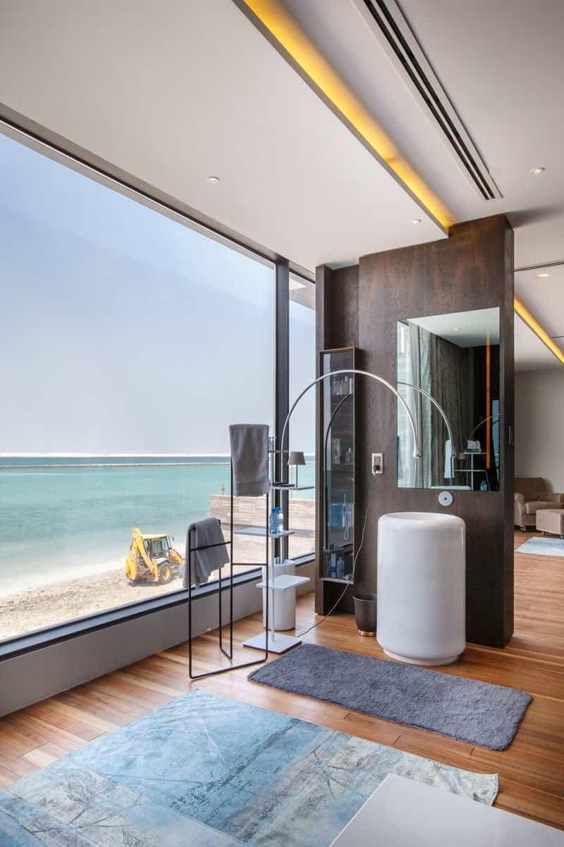 casa moderna con vistas al mar 12