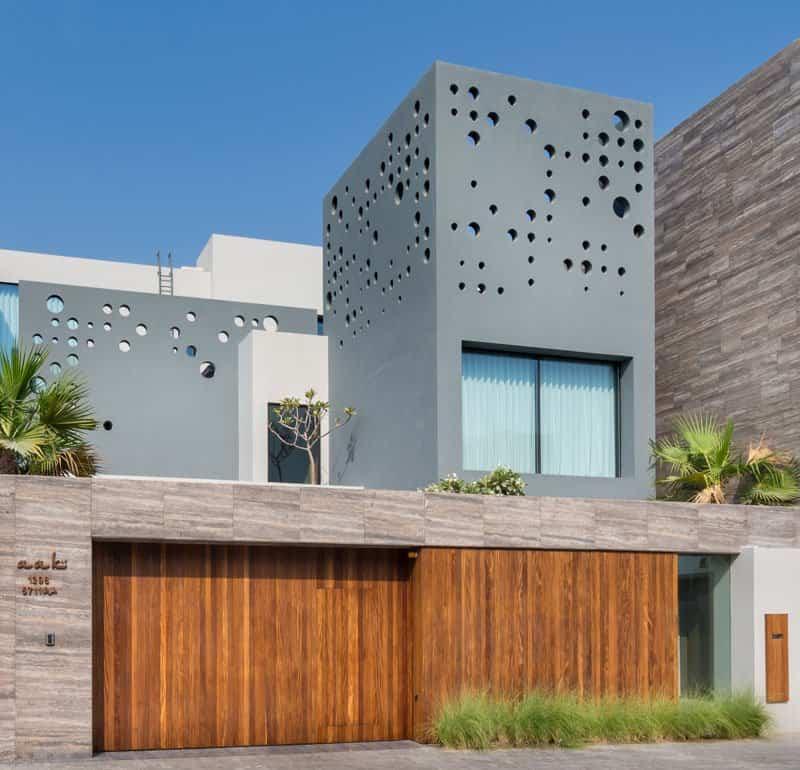 casa moderna con vistas al mar 2