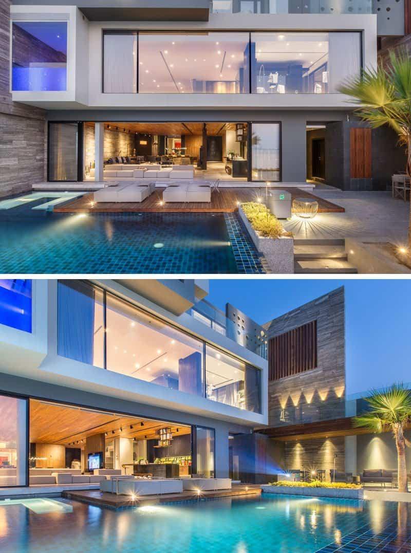 casa moderna con vistas al mar 3