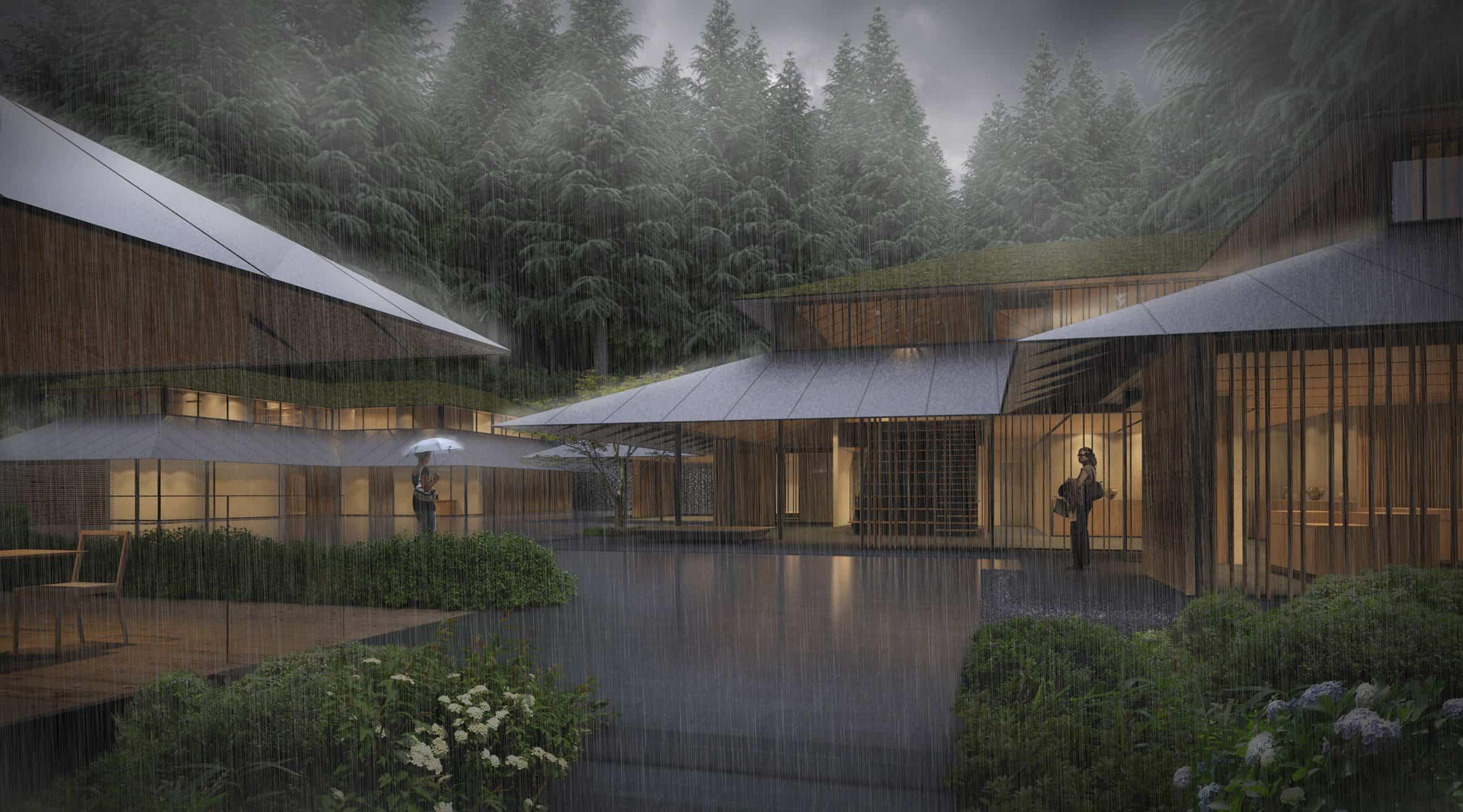 jardín japonés Kengo Kuma 4