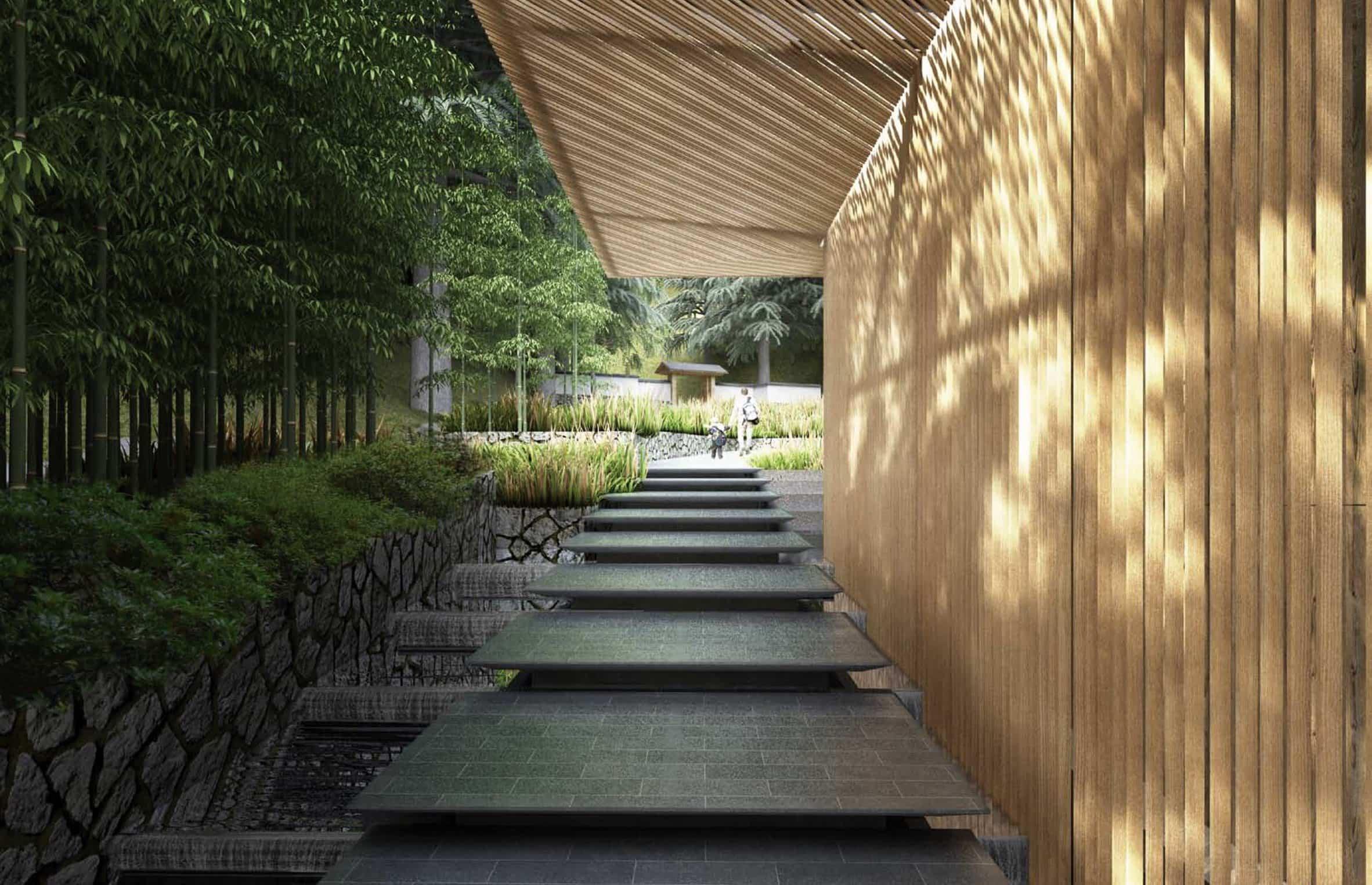 jardín japonés Kengo Kuma 5