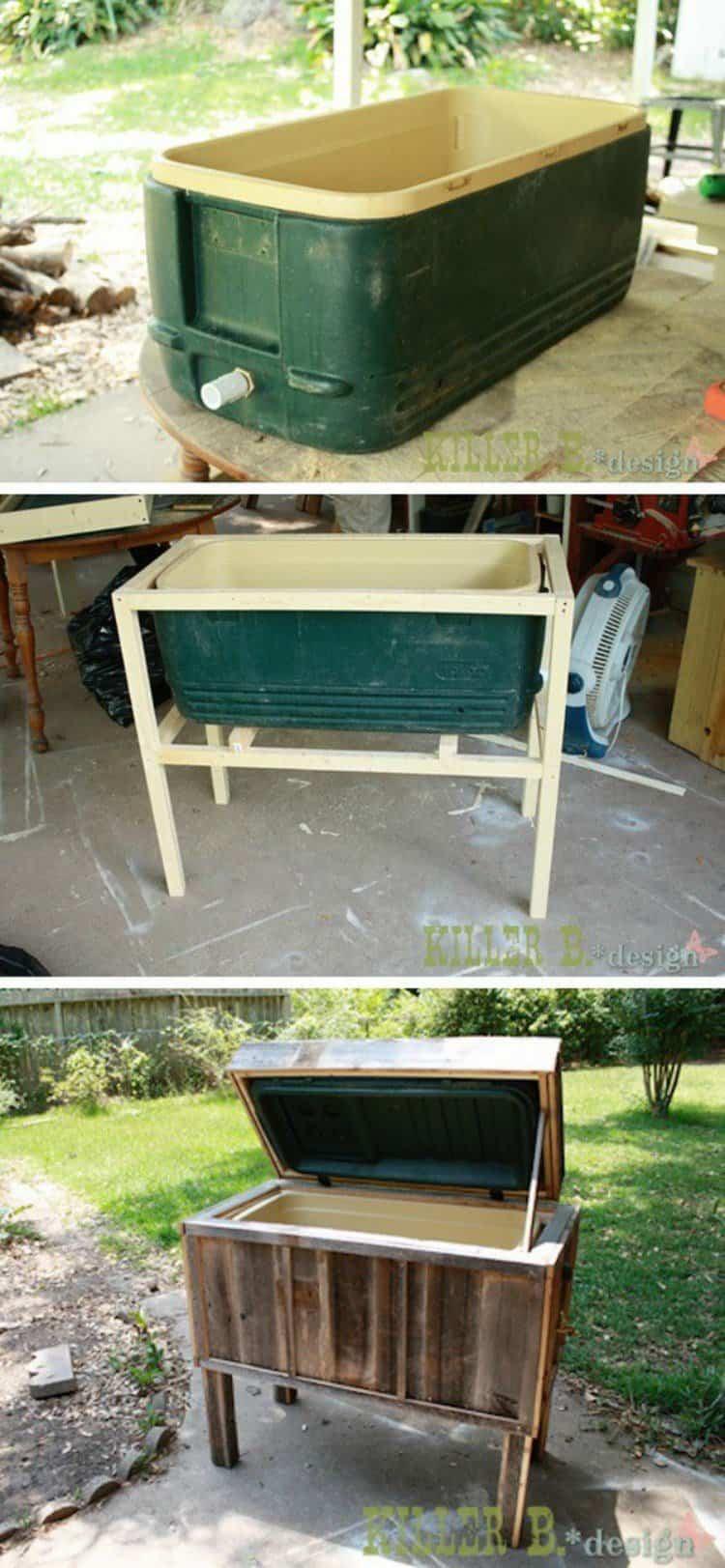 12 ideas para reciclar muebles viejos y darles una segunda for Reciclar muebles viejos
