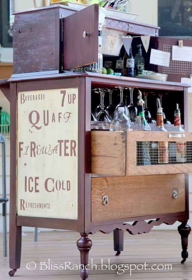 12 ideas para reciclar muebles viejos y darles una segunda - Reciclar muebles antiguos ...