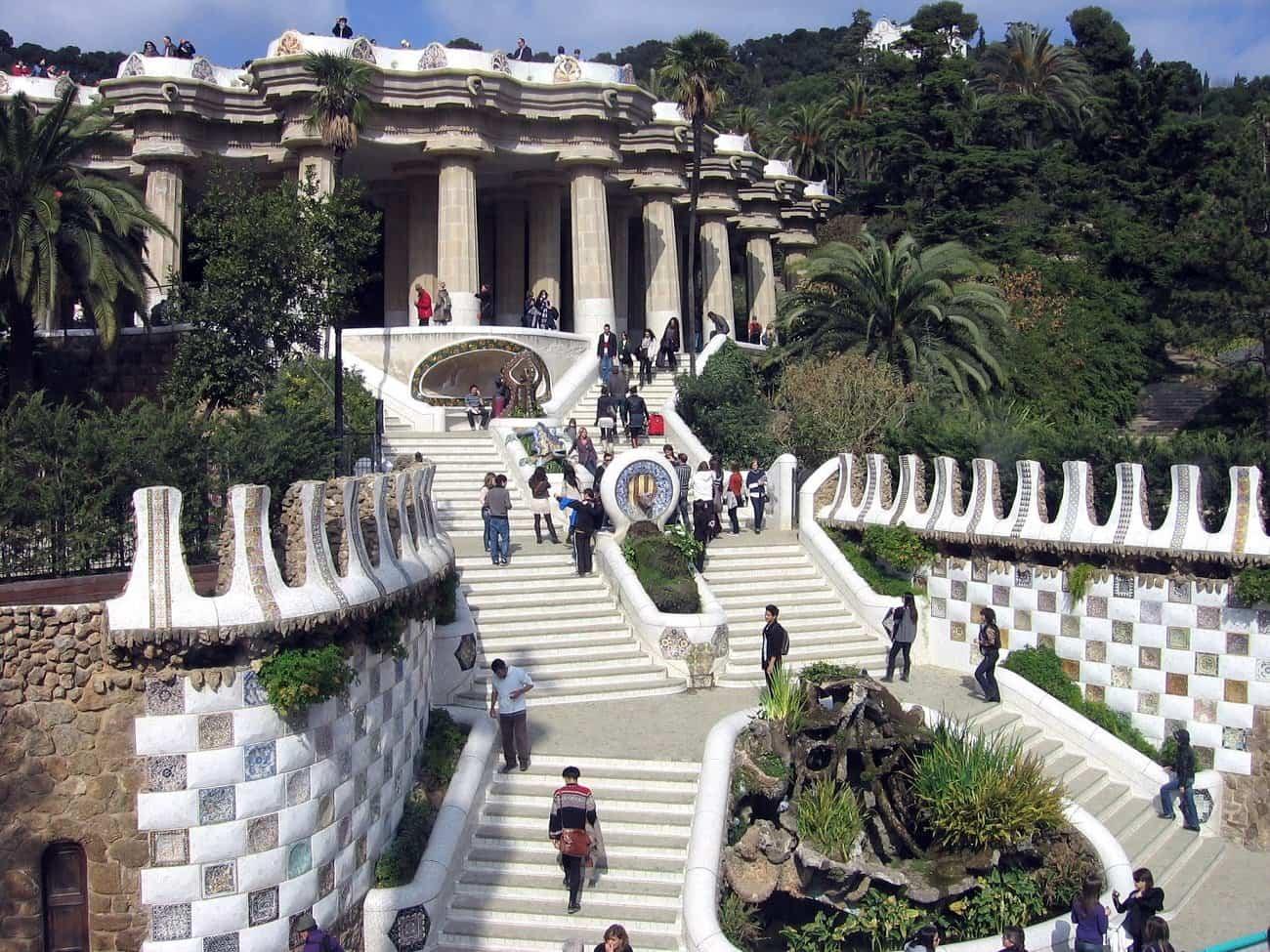 arquitectura moderna - parque Güell