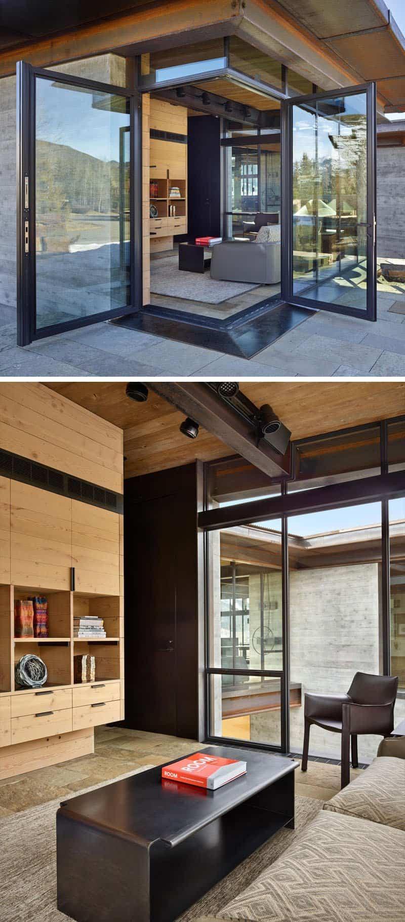 casa de montana moderna 10