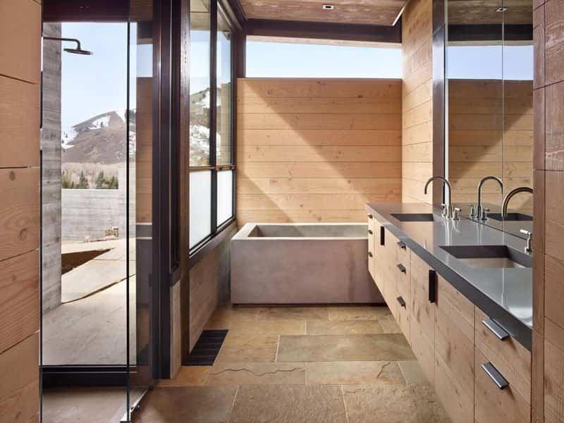 casa de montana moderna 12