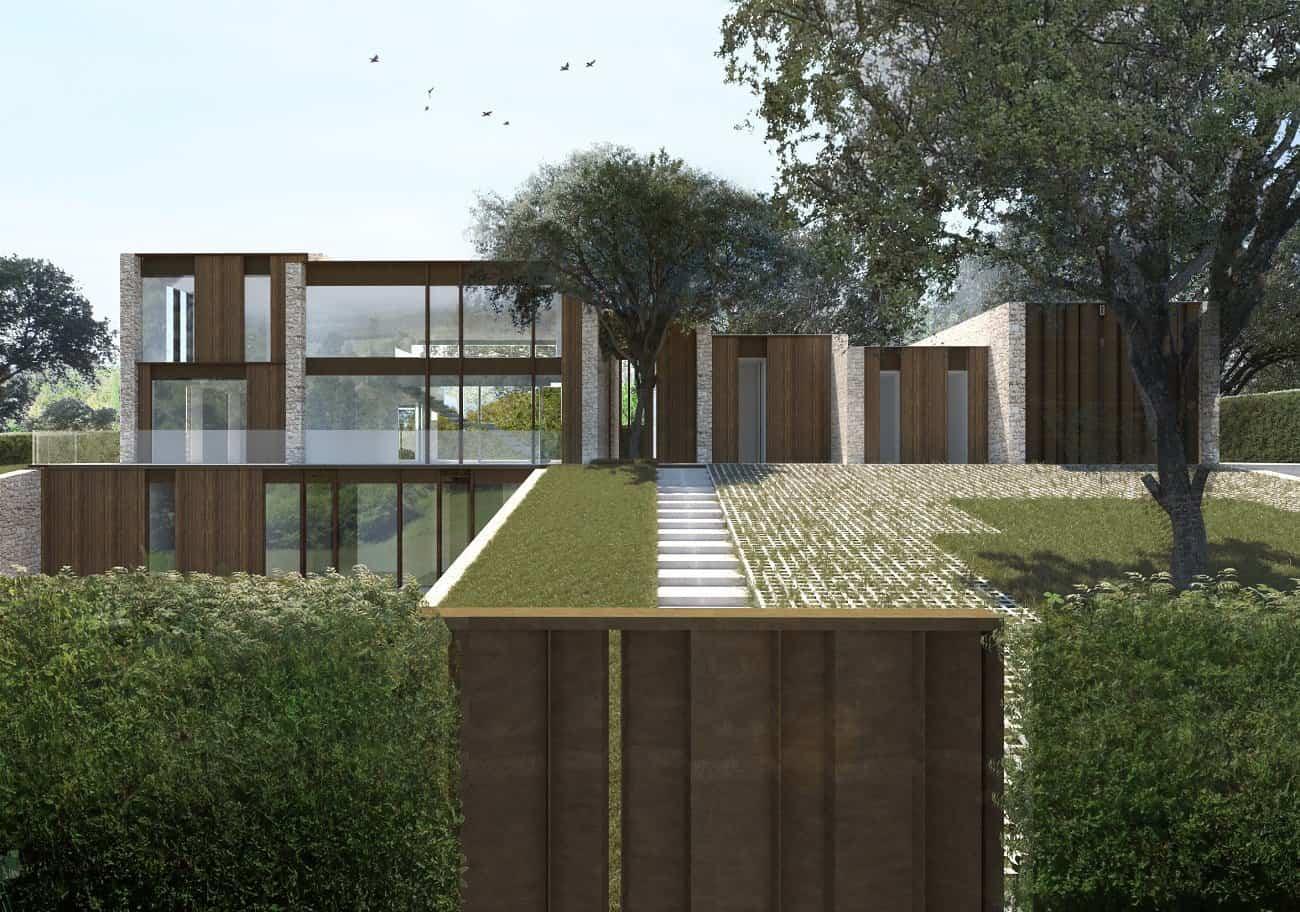 Casa la finca una casa moderna en la sierra de madrid - Casa en la sierra de madrid ...