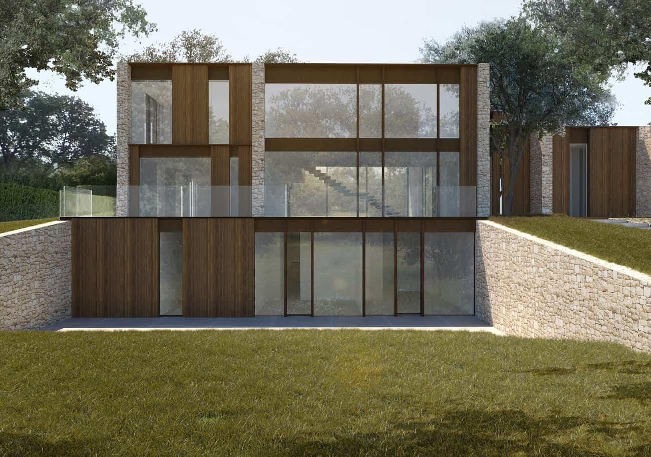 Casa la finca una casa moderna en la sierra de madrid - Casas modernas madrid ...