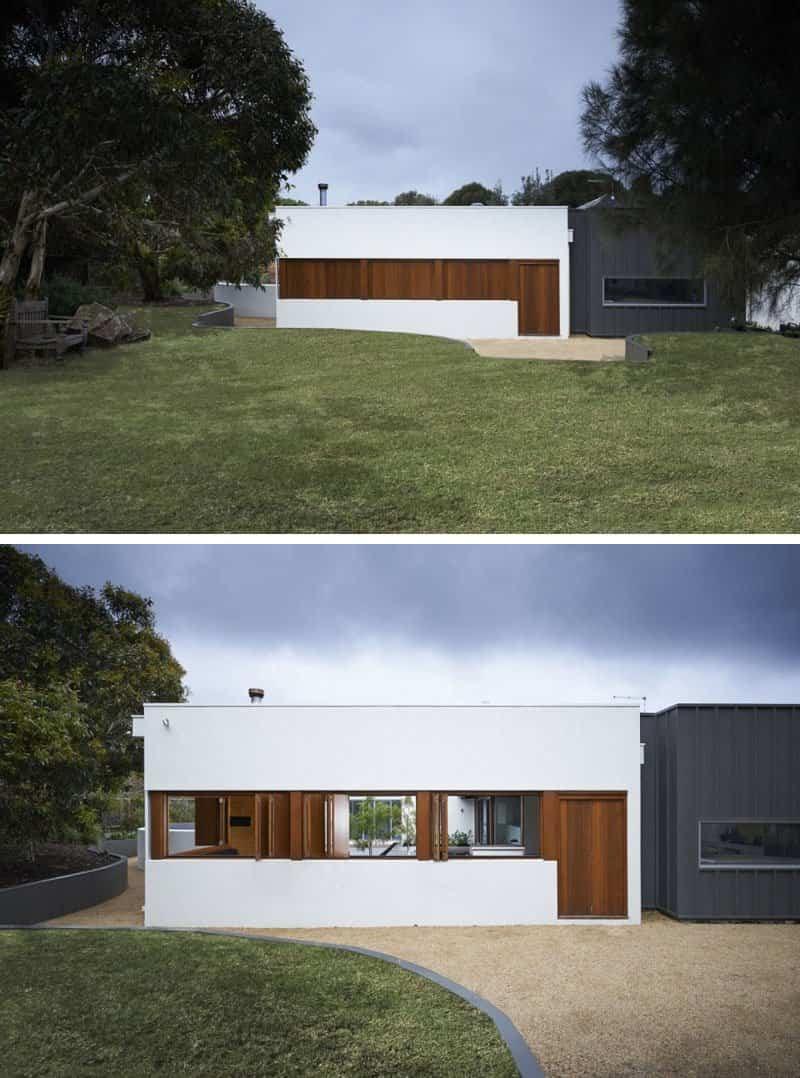 casa moderna con fachada minimalista 3