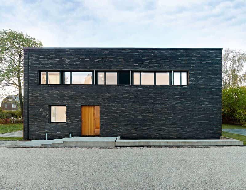 casa moderna con fachada minimalista 7