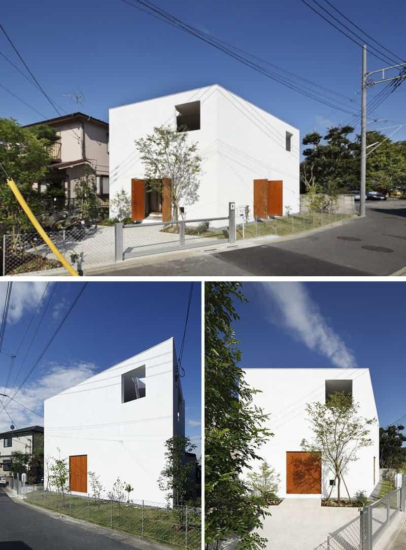 Casas blancas modernas casas blancas modernas with casas for Casa moderna blanca